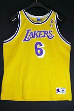 Rare eddie jones angeles lakers talla XL SZ 48 nba camiseta baloncesto Jersey Champion