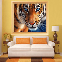 Tiger 5D Diamond DIY Painting Craft Kit Home Wall Hanging Decor Gifts Full Drill