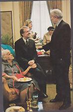 Jimmy Carter Holding Miz Lillian His Mother    # C7