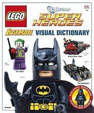 Lego Batman Visual Dictionary & Exclusive Electro Suit Batman Minifigure