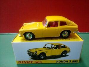 Modellino DIE CAST Dinky Toys Honda S 800 1408 Giallo 1/43 1:43  ATLAS