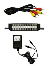 NES Parts Bundle 72 Pin Connector AV Cable And Power Adapter By Mars 8Z