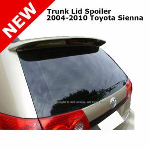 For Toyota Sienna 04-10 5 Door Roof Trunk Spoiler Rear Painted BLACK 202