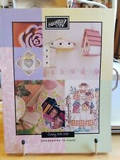 1998-1999 Stampin' Up! Idea Book Catalog Rubber Stamps Scrapbooking Cards.