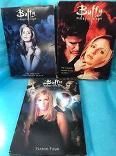 Buffy The Vampire Season 1 2 And 4 DVD Box Set Lot