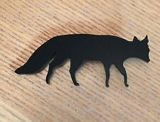 Black Fox Brooch Gift