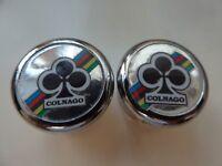 Vintage NOS Classic  Colnago World Champion Handlebar End Plugs