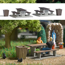 OO/HO Life Scenery Accessories - Picnic Area set - Busch 7729 P3
