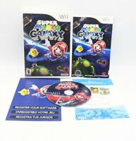 Super Mario Galaxy (Nintendo Wii, 2007) Video Game Complete & Tested Works *Read