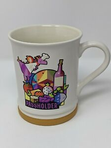 Disney 2021 Epcot Food And Wine Festival Chef Figment Passholder Coffee Mug