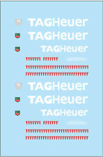 F'artefice FE-0003 1:43 McLaren F1 GTR TAG Heuer Specification Decal