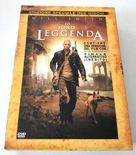 IO SONO LEGGENDA (2007) FILM ED.SPECIALE 2 DVD SLIPCASE CON FINALE ALTERNATIVO!!