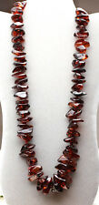 Baltic Cherry Amber Chunky Nugget Long Necklace 134 gm PASS HEAT ACID TESTS  a17