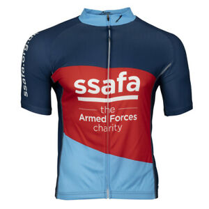 Scimitar Cycling Jersey Full Zip Short Sleeve Cycle Clothing SSAFA Unisex S-XL