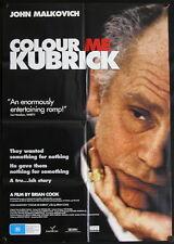 Colour Me Kubrick (2005) Australian One Sheet JOHN MALKOVICH