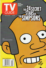 2000 TV Guide - The Simpsons - Apu - Big Brother - Tim Russert - Eminem