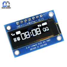 "0.91"" inch SPI 128x32 White OLED LCD Display Module SSD1306 For Arduino STM32"