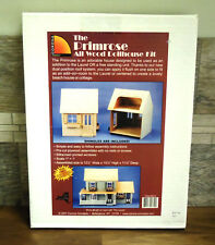 The Primrose All Wood Dollhouse Kit-Corona Concepts New in Box Add on to Laurel