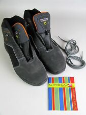 "GIASCO S3 NONSLIP WORKBOOTS ""SNOWBOARD""  FINEST ITALIAN LEATHER SIZE 12  NIB"