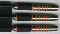 """NAPALM"" 28 gram Steel Tip Darts 90% Tungsten: 1 set: With Accessories"
