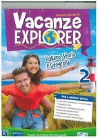 Vacanze explorer 2° matematica e scienze, Raffaello scuola, libro vacanze