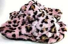 Vionic Womens Indulge Relax Pink Leopard Slipper US Size 8 M, EUR Size 39