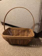Longaberger,2003 Small Easter Warm Brown Basket