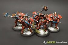 Man-O-War Demolition Corps Khador unit warmachine ** COMMISSION ** painting