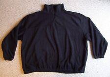 Big Men's Colorado Timberline 1/4 Zip Fleece Size 6XL Black
