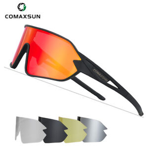 Cycling Glasses Mtb Bike Professional Polarized Sports Sunglasses UV400 5 Lens