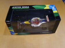 Minichamps Nigel Mansell Ayrton Senna Taxi FW14 1:18