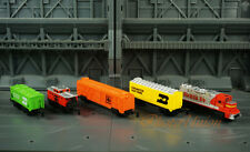 Galoob Micro Machines Transcontinental Freight Engine Train Locomotive Santa FE