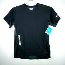 NEW Columbia Men's Montrail Titan Ultra II Running S/S Shirt Black Sz M $55