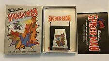 Atari 2600 Spiderman Original Box and Manual Vintage Video Game