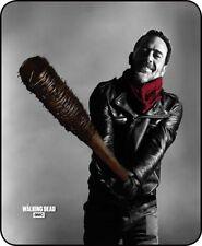 Negan Walking Dead AMC Lucille Faux Fur Cashmere Fleece Luxury Blanket Throw