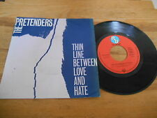 "7"" Pop Pretenders - Thin Line Between Love And Hate / Time (2 Song) REAL REC"