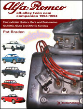 Alfa Romeo Restoration Book Manual Alloy Twin Cam Companion Braden Restore
