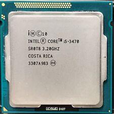 Intel Core i5-3470 3.2GHz 6MB 5 GT/s Quad-Core SR0T8 CPU FCLGA1155 HP DELL ACER