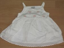 Pretty baby girl cotton dress. 0-3 months. Excellent condition