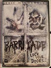 Barricade (DVD, 2012) Eric McCormack / Horror/ Thriller Combine Shipping & SAVE$
