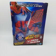 Spiderman Hero FX glove 2011 The Amazing Spiderman sound working