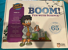 Learn & Climb Boom! Fun with Science Kids' Science Kit 65+ Experiments Stem