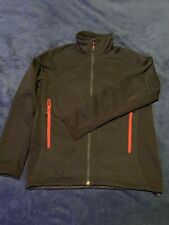 The North Face Stealth Byron Zip Jacket UPF 50 Wind Resistant Black M Medium