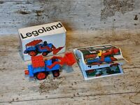 Lego 604 Excavator - Vintage Legoland 1971 - Complete With Box and Instructions