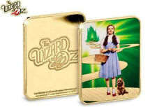 More details for official the wizard of oz collector 24ct gold ingot brand new in capsule - rare