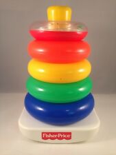 Fisher Price Rock A Stack Stacking Rings Toy - Excellent Condition!