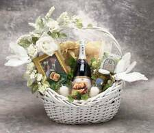 Wedding Gift Basket - KISS THE BRIDE - Bride and Groom Basket - Free Shipping!
