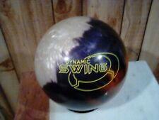 14lb Columbia DYNAMIC SWING PEARL Bowling Ball Used COPPER/WHITE/SMOKE