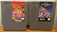 Double Dragon 1 & 2 Games Nintendo NES Bundle Original OEM