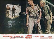 WILLIAM HOLDEN  SUSANNAH YORK THE 7th DAWN 1964 VINTAGE LOBBY CARD #7